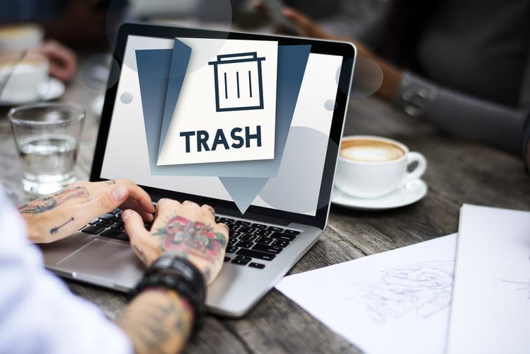 Como recuperar arquivos apagados da lixeira?